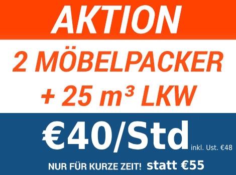 Aktionspreis für Umzug in Graz